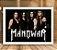 Poster com Moldura - Manowar - Imagem 1