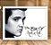 Poster com Moldura - Elvis The King Of Rock - Imagem 2