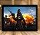 Poster com Moldura - Playerunknown's Battlegrounds PUGB   Mo.07 - Imagem 1