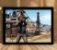 Poster com Moldura - Playerunknown's Battlegrounds PUGB   Mo.08 - Imagem 1