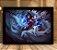 Poster com Moldura - League of Legends LoL Ahri - Imagem 1