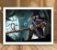 Poster com Moldura - League of Legends LoL Caitlyn - Imagem 2