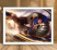 Poster com Moldura - League of Legends LoL Garen - Imagem 2