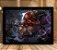 Poster com Moldura - League of Legends LoL Gragas - Imagem 1