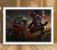 Poster com Moldura - League of Legends LoL Kled - Imagem 2