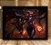Poster com Moldura - League of Legends LoL Shyvana - Imagem 1