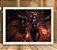 Poster com Moldura - League of Legends LoL Shyvana - Imagem 2