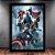 Poster com Moldura - Os Vingadores - Imagem 1