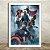 Poster com Moldura - Os Vingadores - Imagem 2