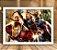 Poster com Moldura - Vingadores Mo.3 - Imagem 2