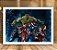 Poster com Moldura - Vingadores Mo.2 - Imagem 2