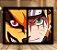 Poster com Moldura - Naruto x Kurama - Imagem 1