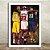 Poster com Moldura - Nba Legends Kobe Lebron Jordan - Imagem 2