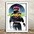 Poster com Moldura - Cyberpunk - Imagem 2