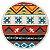 Toalha Redonda Hippie Nest - 100% Algodão  - Imagem 3