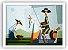 Quixote e Dulcineia na colheita / Fine Art em Tela sem moldura - Manasses Andrade - Imagem 1