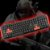 Teclado Sem Fio Gamer Red Keys Multilaser 2.4Ghz - Imagem 3