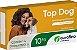 Vermífugo Para Cães Top Dog Ouro Fino 10 kg - Caixa 4 Comprimidos - Imagem 1