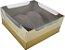 Caixa encanto coração lapidado 200g cor de ouro pacote com 10 - Ideia - Imagem 1