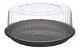Embalagem torta preta pequena 1.5kg caixa com 50 - G50MM - Galvanotek  - Imagem 1
