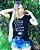 T-shirt Estampa com detalhe aplicação em pérolas, COMBO NO ATACADO, 5 unidades, cores e estampas variadas. - Imagem 4