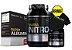 Kit Volume Corporal e Peso Massa Nitro 1,4kg + Super Albumina 500g + Creatina 300g - Probiótica - Imagem 1