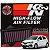 Filtro De Ar Esportivo Original K&n Toyota Etios Motor 1.3 e 1.5 Kn 33-3018 - Imagem 1