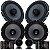 Kit Falante 2 Vias Audiophonic Club + Kit Coaxial Club 6 polegadas Vw Nivus T-cross 310w Rms Som Automotivo - Imagem 2
