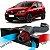 Kit Intake Race Chrome + Filtro De Ar Esportivo Sandero Rs 2.0 16v Rci015 - Imagem 1