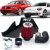 Kit Intake Race Chrome + Filtro De Ar Esportivo Rci062 Passat Tiguan Audi A3 2.0 16v TSI - Imagem 3