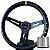 Volante Esportivo Lowv Sniper Aliviado Tarja Amarela + Cubo de Instalação - Imagem 1