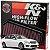 Filtro De Ar Esportivo Mercedes C200 C250 1.8 K&n 33-2965 - Imagem 1