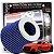 Filtro De Ar Esportivo K&N Original Duplo Fluxo RG1001 BL Azul + Adesivo - Imagem 1