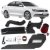 Kit Intake Race Chrome + Filtro De Ar Esportivo Jetta Tsi 200 cv Rci084 2011 a 2013 - Imagem 1
