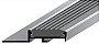 Perfil Standard em Alumínio de espessura de 9 mm com acabamento natural com insertos de borracha anti derrapante em PVC colorido. - Imagem 1