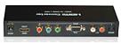 Conversor Hdmi Para Vídeo Componente E Vga Com Óptico - Imagem 1
