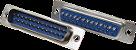 Conecotor Db25 Macho Para Solda - Imagem 1