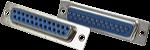 Conecotor Db25 Fêma Para Solda - Imagem 1