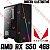 PC Gamer AMD Athlon 3000G, 8GB DDR4, SSD 240GB, GPU AMD RADEON RX 550 4GB - Imagem 1