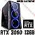 PC Gamer Intel Core i5 11400F, 16GB DDR4, SSD 480GB, GPU GEFORCE RTX 3060 12GB - Imagem 1