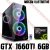 PC Gamer AMD Ryzen 5 3600X, 16GB DDR4, SSD NVME 500GB, GPU NVIDIA GEFORCE GTX 1660TI 6GB - Imagem 1