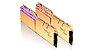 Memória G.Skill Trident Z Royal Elite, RGB, 64GB (2X32GB), 3600MHz, DDR4, CL16, Dourada - F4-3600C16D-64GTRG - Imagem 3
