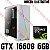 (Recomendado) PC Gamer AMD Ryzen 5 3600XT, 16GB DDR4, SSD NVME 512GB, GPU GEFORCE GTX 1660 SUPER 6GB - Imagem 1