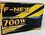 Fonte ATX 700 Watts Potência Real Bivolt Manual F-NEW FN-R-700  - Imagem 2