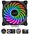 Cooler Fan P/ Gabinete 120MM C/ LED RGB 1200 RPM AKASA Vegas X7 AK-FN093 - Imagem 1