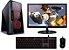PC Gamer Super Completo Intel Core I5 Kaby Lake 7400, 8GB DDR4, HD 1TB, Geforce GTX 1050TI OC 4GB, Monitor LED 23, Teclado, Mouse e Headset Gamer - Imagem 1
