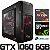 PC Gamer AMD Ryzen 5 2700X, 16GB DDR4, SSD M.2 250GB, HD 1TB, GPU Geforce GTX 1060 OC 6GB - Imagem 1