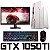 PC Gamer Completo Intel Core I3 Coffee Lake 8100, 8GB DDR4, HD 1 Tera, GPU Geforce GTX 1050TI OC 4GB, Monitor Gamer 75Hz 24 Polegadas, Teclado, Mouse e Headset Gamer - Imagem 1