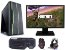 PC Gamer Super Completo Intel Core I7 Ivy Bridge 3770, 16GB DDR3, SSD 120GB, HD 1TB, GPU Geforce GTS 450 2GB, Monitor LED 19.5, Teclado, Mouse, Headset Gamer - Imagem 1
