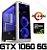 PC Gamer AMD Ryzen 5 2400G, 8GB DDR4, SSD 120GB, HD 500GB. GPU GEFORCE GTX 1060 OC 6GB - Imagem 1